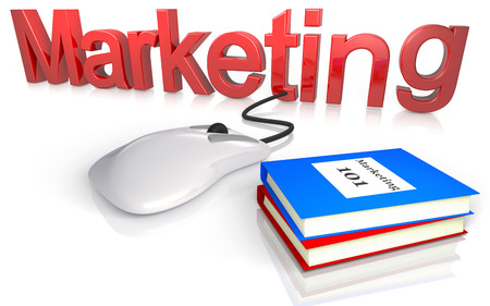 concept for learning the market online photo
