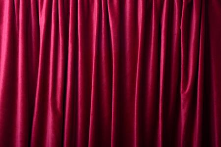 cortinas rojas: Cortinas de color rojo oscuro como un fondo o una textura