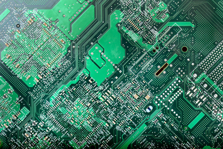 information superhighway: background texture of a circuit board