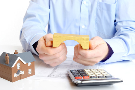 Mortgage loan or bridging application with house