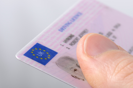 Holding out a driving license