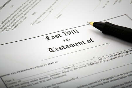 Signing Last Will & Testament