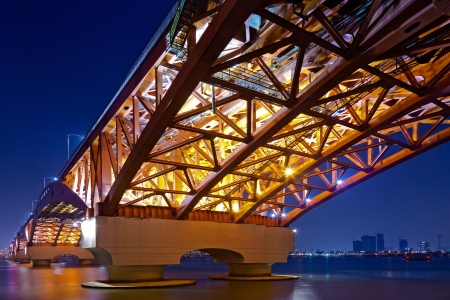 beautiful seoul bridge