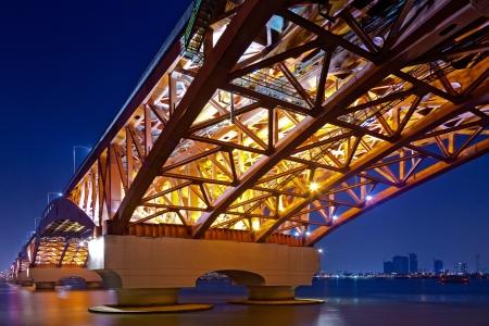 beautiful seoul bridge