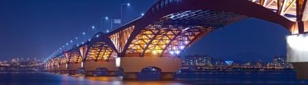 seaports: beautiful seoul bridge
