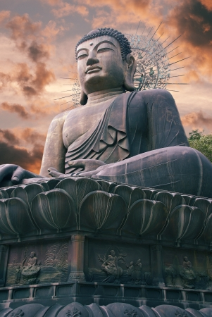 Giant statue of Buddha in Korea Stock Photo - 14484479