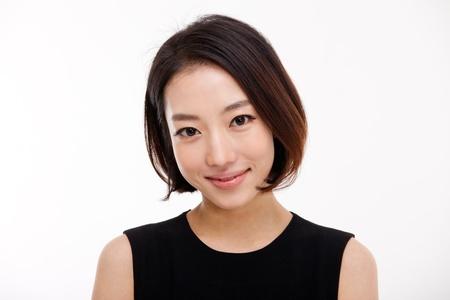 Young Asian pretty business woman close up portrait   版權商用圖片