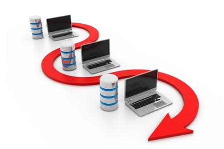 database icon: Database network