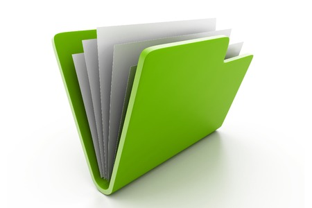 folder with documents photo