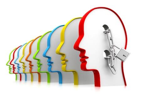 open mind: Open mind Stock Photo
