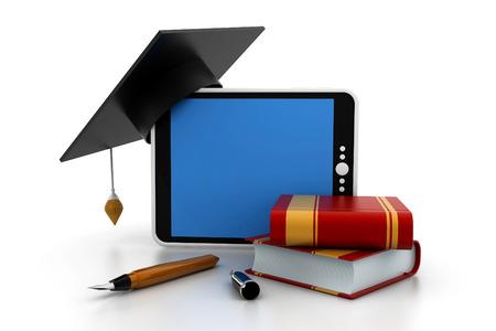 bachelor s degree: graduation concept Stock Photo
