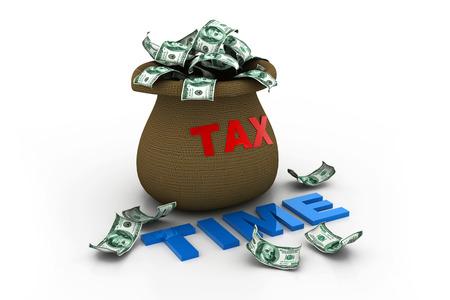 tax time: Tax time Stock Photo