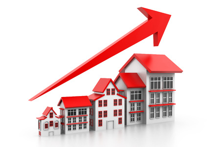 real estate growth: Graph of housing market