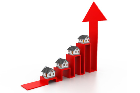 real estate market: Graph of the housing market
