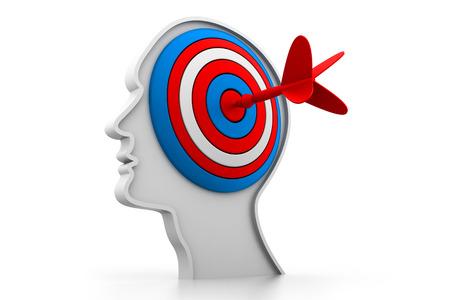 depressant: Target on head