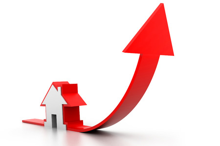 commercial real estate: Growing home sale graph