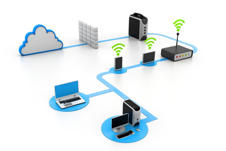 computer server: Cloud computing devices