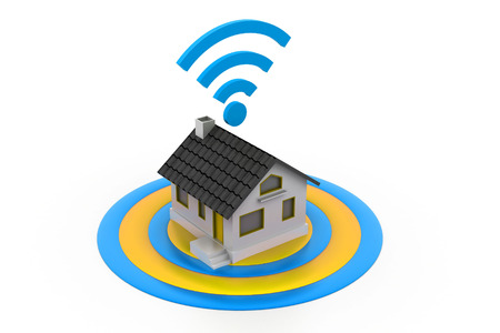 Wireless Home connection photo