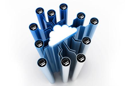 rete di computer: Rete di computer Nube