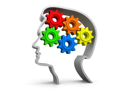 three wheel: Intelligence concept
