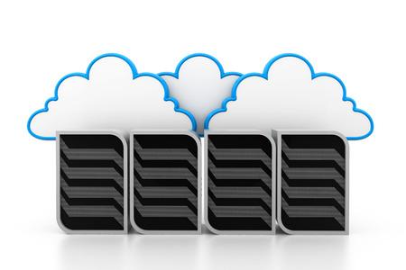 somewhere: Cloud servers