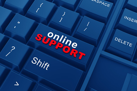 customer care: Online support