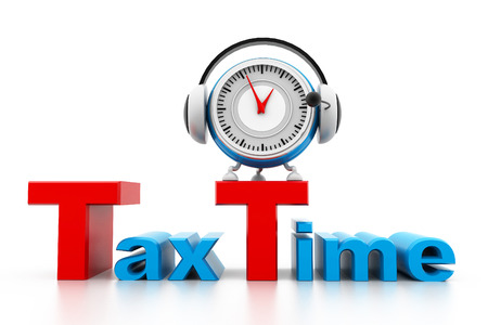 tax time: Tax time Stock Photo