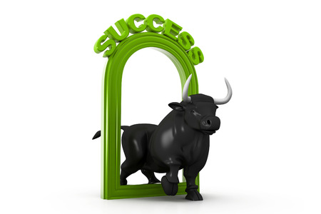 bullish: Business bull