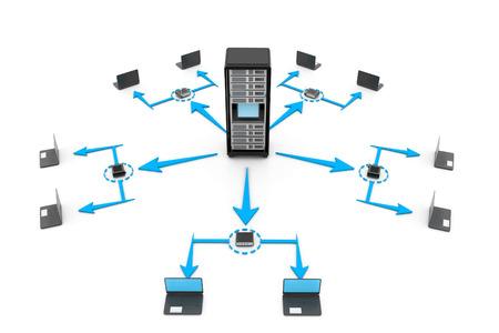 modem: Computer network