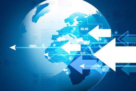 listing: World business background Stock Photo