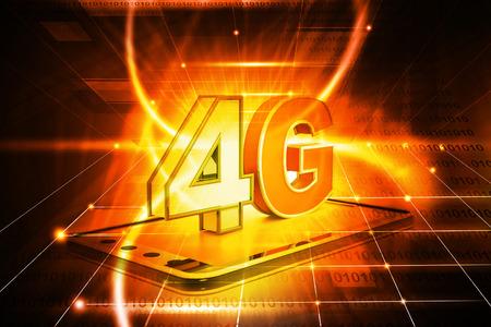 high speed internet: 4g tablet pc