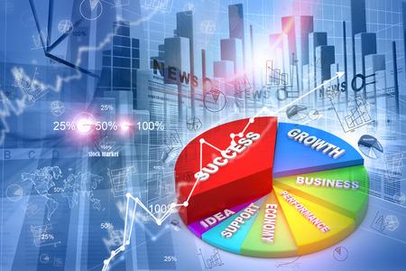 stock ticker: Economical stock market graph
