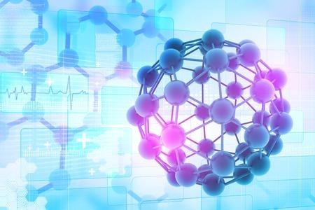 molecular structure: Molecules background