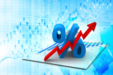 rates: Percent Growing Stock Photo