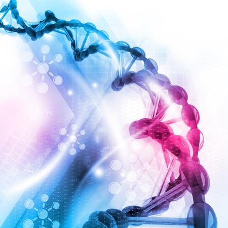 DNA-structuur  Stockfoto