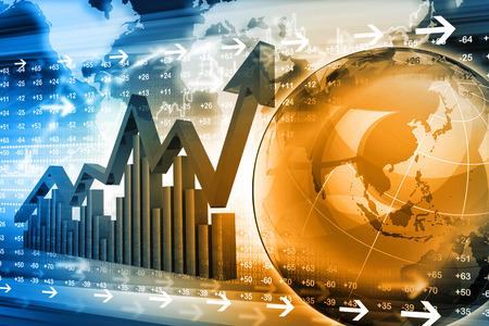 stock listing: Economical stock market graph