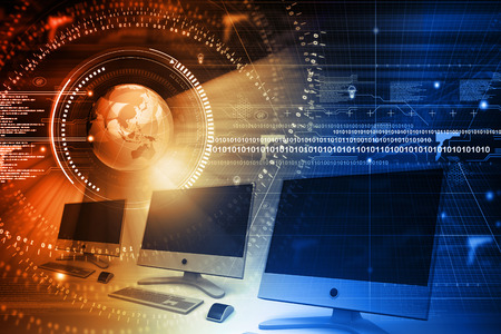 global technology: Global computer network