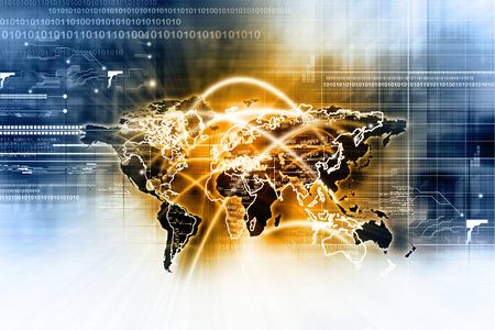 comercio: Conexión de red global