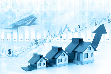 real estate growth: Graph of the housing market