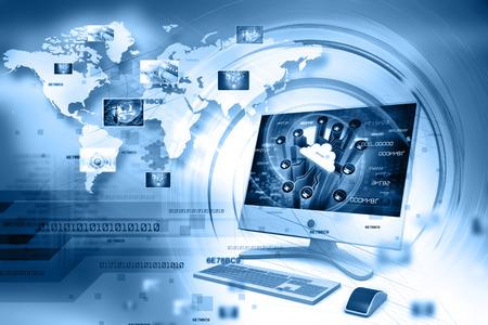 Digitale Internet-Technologie Standard-Bild