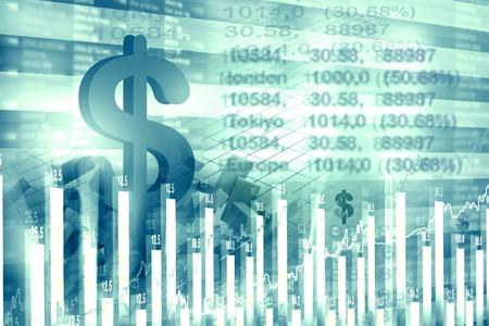 economical: Economical stock market chart and graph