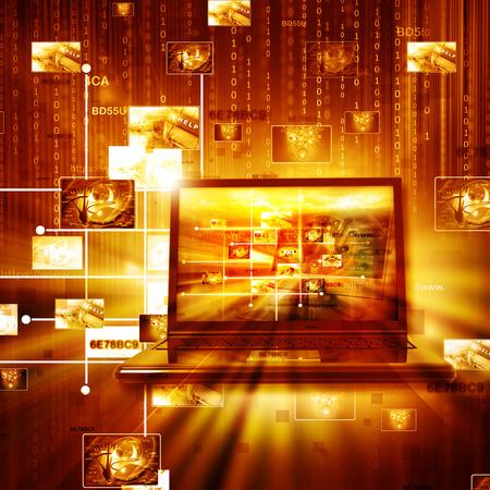 Data management technology Standard-Bild