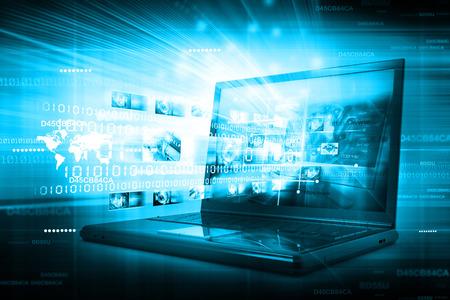디지털 인터넷 기술