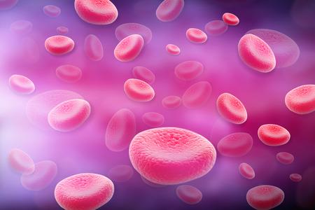 globulo rojo: C�lulas de sangre Foto de archivo