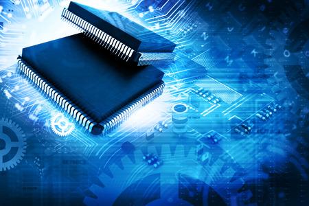 Elektronický čip