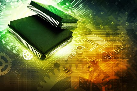 ttl: Electronic integrated circuit chip