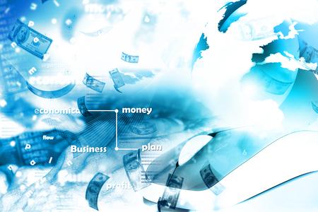 money online: Online money concept