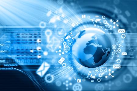 technológiák: Technológiai háttér Stock fotó