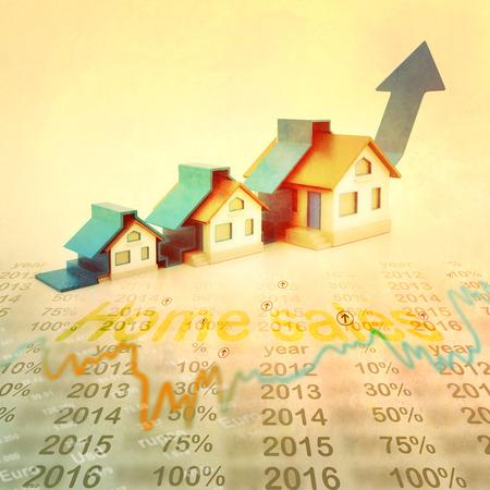 주택 시장의 그래프