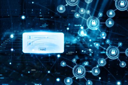 data theft: Internet security